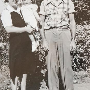 Grandparents and Mom Photo