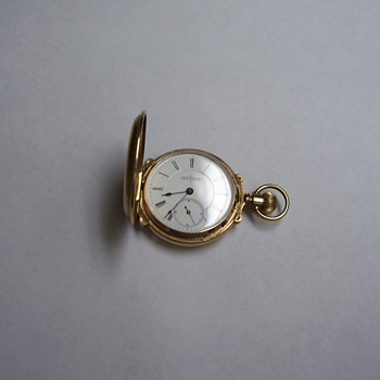 JTS & CO. POCKET WATCH by Illinois Watch Co. - Pocket Watches