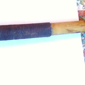 Tool or Weapon?? From??  What is This?  and used for?? bamboo, metal and wood!?