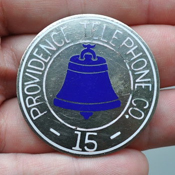 Providence Telephone Company Badge - Telephones