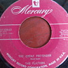"1955 The Platters ""The Great Pretender"" backed with ""I'm Just a Dancing Partner"" 45rpm"