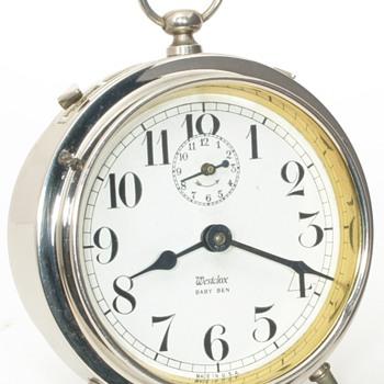 Westclox Baby Ben Alarm Clocks, 1917 - 1922 - Clocks