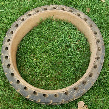 New Old Stock hard rubber tire - Classic Cars