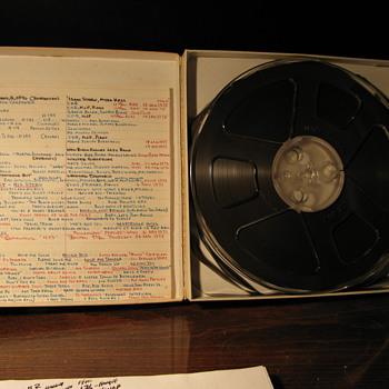 Elvis Reel to Reel Tape !!