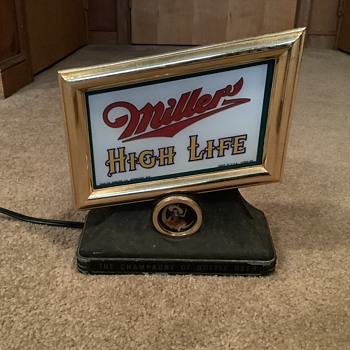 Miller High Life  - Breweriana