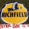 "Richfield sign 72"""
