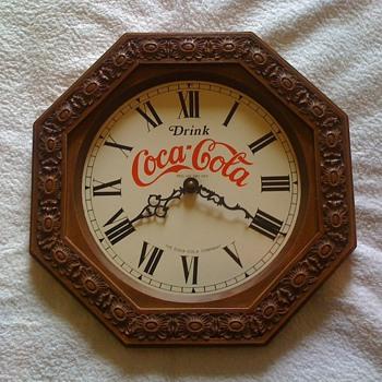 old coca cola clock - Coca-Cola