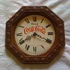 old coca cola clock