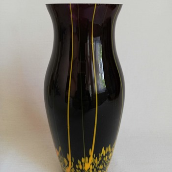 Kralik Vase - Art Glass