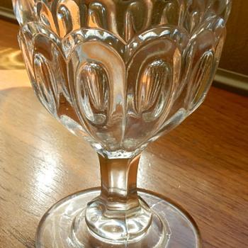 Victorian rummer / goblet. - Glassware