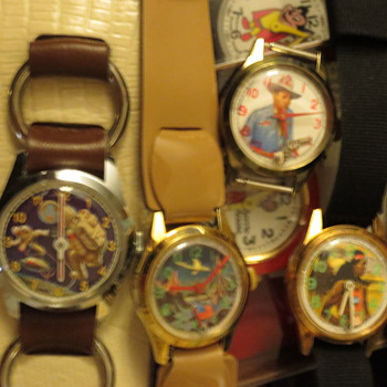 Gene Autry six shooter 4kerry from gramma - Wristwatches
