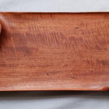 Holly Tornheim Wood Tray (Work of Art) - Folk Art