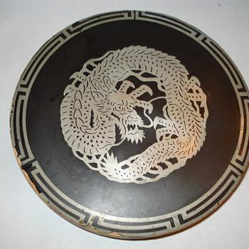 CHINESE DRAGON TRAY??????? - Asian