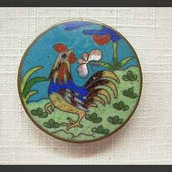 Chinese Cloissone Pendant - Fine Jewelry