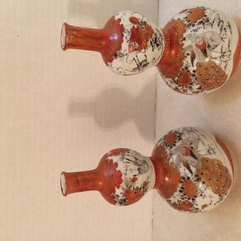 Antique Asian Vases Sunday Flea Market Find - Asian