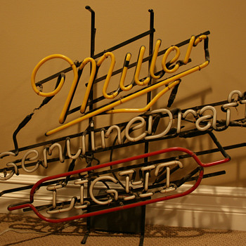 Neon Bar Sign - Signs