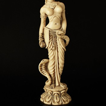 Indian/Asian Ivory/Resin Figurine. - Asian