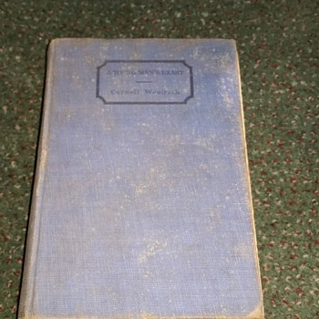 1930 book A young man's heart by Cornell Woolrich - Books