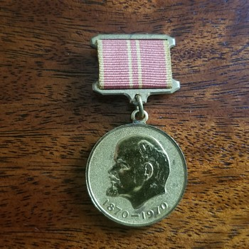 """Jubilee medal of Vladimir Ilyich Lenin"" - Medals Pins and Badges"