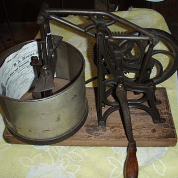 """Starrett """"Steam Boat Chopper"""" - Kitchen"""