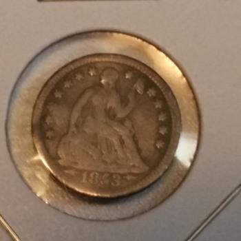 1/2 Dime - US Coins