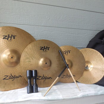 Thomas Take Note! Old Drummers Never Die They Just Beat Themselves Down . . . Or Why I Bought These Zildjian Cymbals! :^D - Musical Instruments