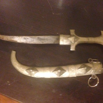 knife/dagger unknown origin - Tools and Hardware