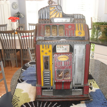 Jennings Century Reserve Victoria Family Model G - From Newport, KY Gambling Joint - Coin Operated