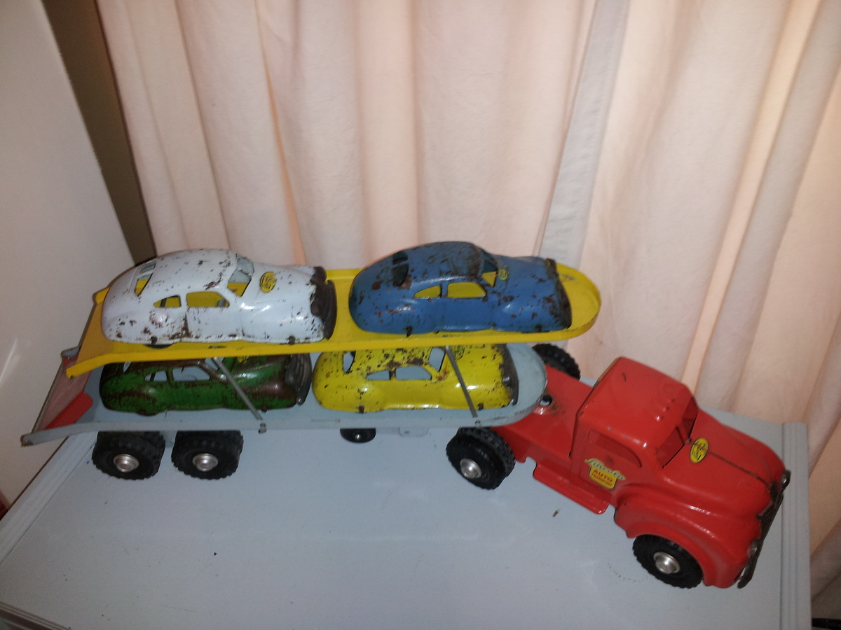 Lincoln Toys Canada Auto Transport And Cars 1950s 22