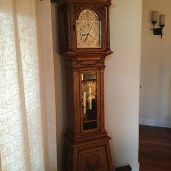 Seth Thomas Hall Clock - Clocks