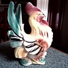 Royal Copley - Windsor Rooster Figurine / No Mark / Circa 1940