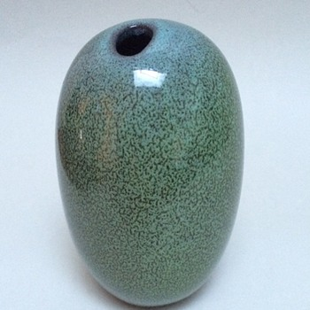 Vase in wonderfull glaze. Unknown signature - Pottery