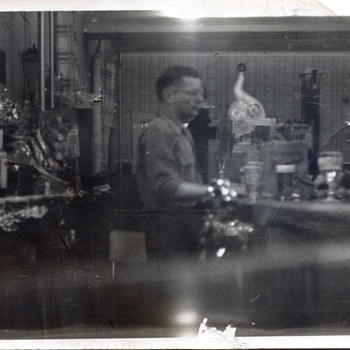 My Father at Work...1950s - Photographs