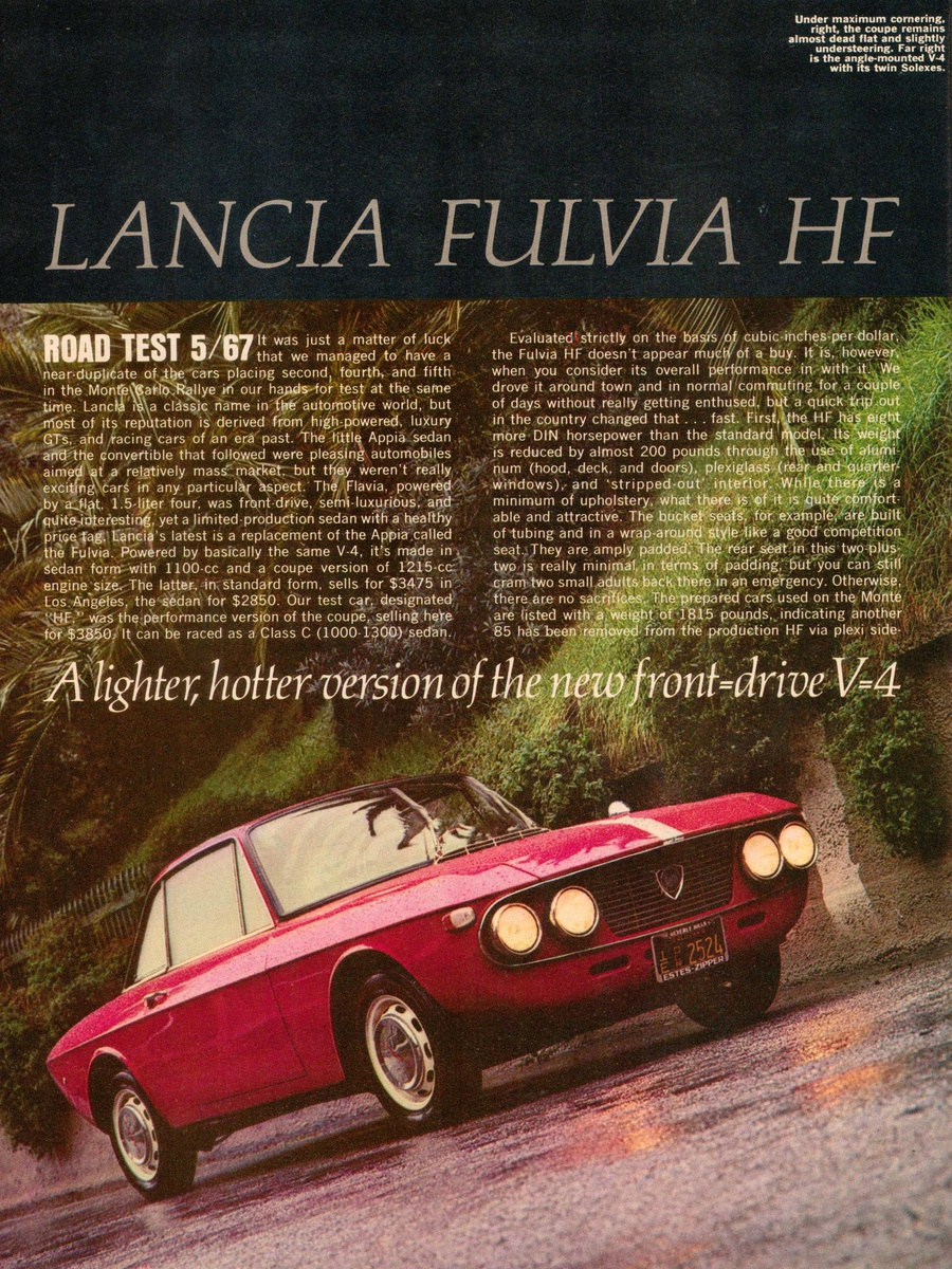 1967 - Sports Car Graphic Magazine | Collectors Weekly