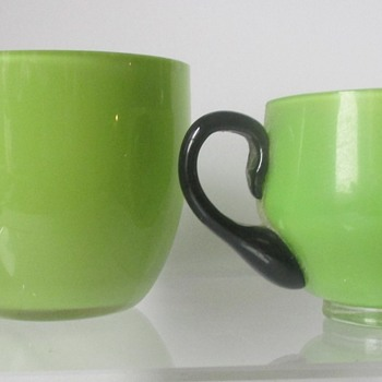 LOETZ TANGO COFFEE SET, MARKED - Art Glass