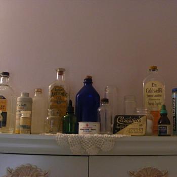 Medicine Bottles - Bottles