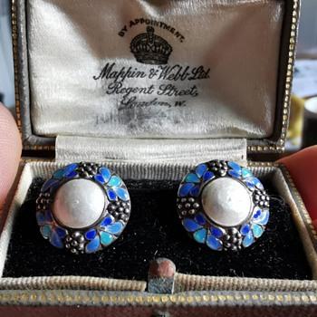 Bernard Instone Earrings - Arts and Crafts