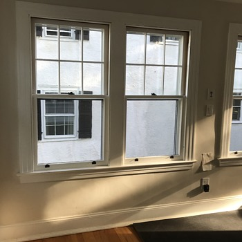 Antique double sash wooden windows  - Tools and Hardware