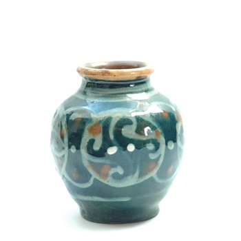 miniature vase by leon elchinger - Pottery
