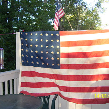 48 star american flag  - Military and Wartime