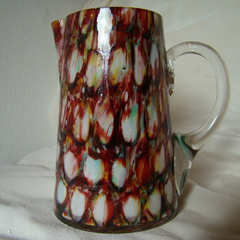 FW small jug/creamer - Art Glass