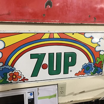 Peter  max 7up signs  - Advertising
