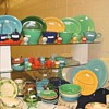 Fiesta pieces at the Nashville, TN, Glass Show, July 17-18, 2010
