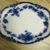 Flow Blue Plate found at Flea Market