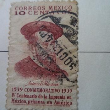 Correos Mexico 1o  Centavos Stamp