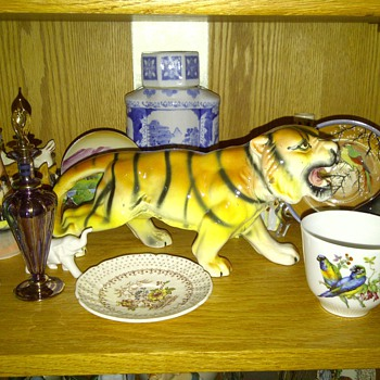 My dads Tiger - Pottery