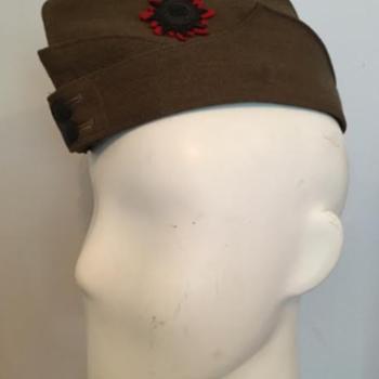 WWII Victoria Rifles of Canada Field Service Cap