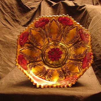 Goofus Glass bowl - Glassware