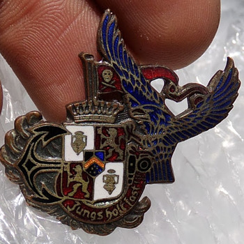 A Most Interesting German Pin - Medals Pins and Badges