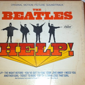 Beatles Help Vinyl Record - Records